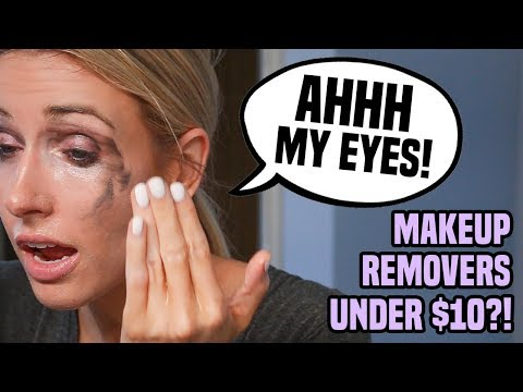 I Tried 5 Makeup Removers Under $10 in 5 Days.. DO THEY EVEN WORK?!