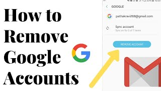 How to Remove Google Account In Android 2021