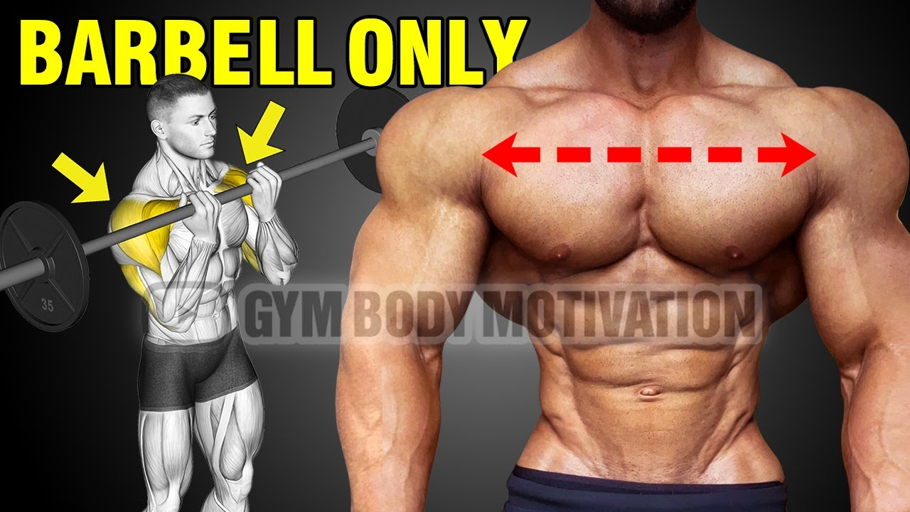 6 Barbbell Exercises For THICKER 3D Shoulders