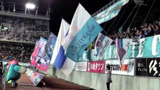 サガン鳥栖 2015 J1リーグ 第2節 vs G大阪戦 後半開始直前の様子です。