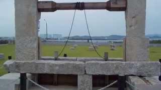 岡山・岡山中区【百間川防潮堤広場】(平成27年9月5日)