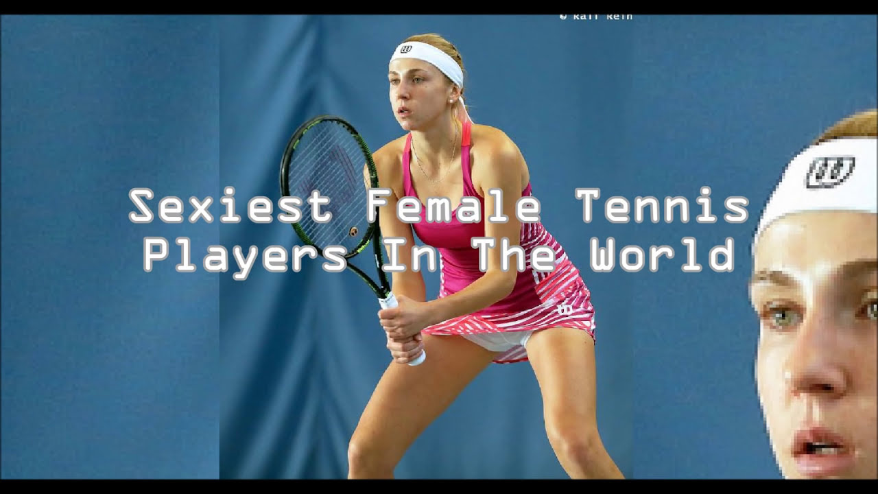 Wetplace sexy tennis players