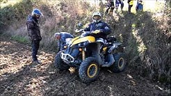 Quad Salvetain rando Lisle Jourdain 10/2015 3eme video