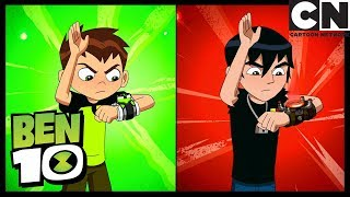 Ben 10 | Ben Joins The Forever Knight | Roundabout Part 1 | Cartoon Network