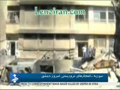 Press TV correspondent killed ,  Al Alam bureau chief injured in Damascus