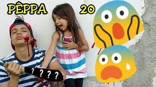 "BABY ALIVE E PÊPPA A MENINA ABANDONADA NO LIXÂO "" 20 "" JUNINHO ""MACHUCADO"" - ANNY E EU"