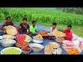 Ramadan Iftar 2019 For 300+ Villagers - Huge Fruits & Traditional Iftar Food Making