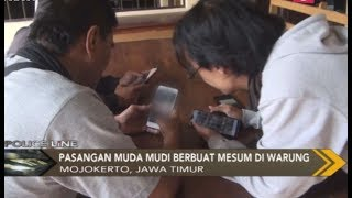Download lagu Warga Mojokerto Dihebohkan Mesum di Warung Trawas Police Line 18 12 MP3