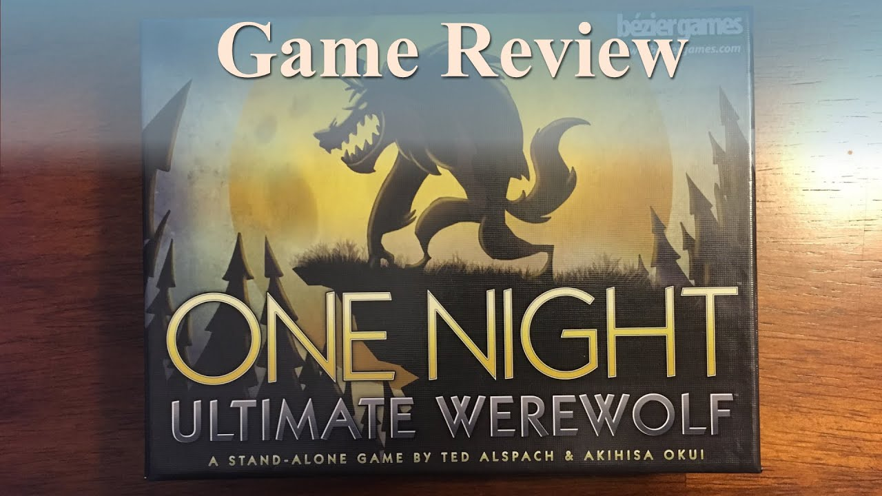 Game Review: One Night Ultimate Werewolf