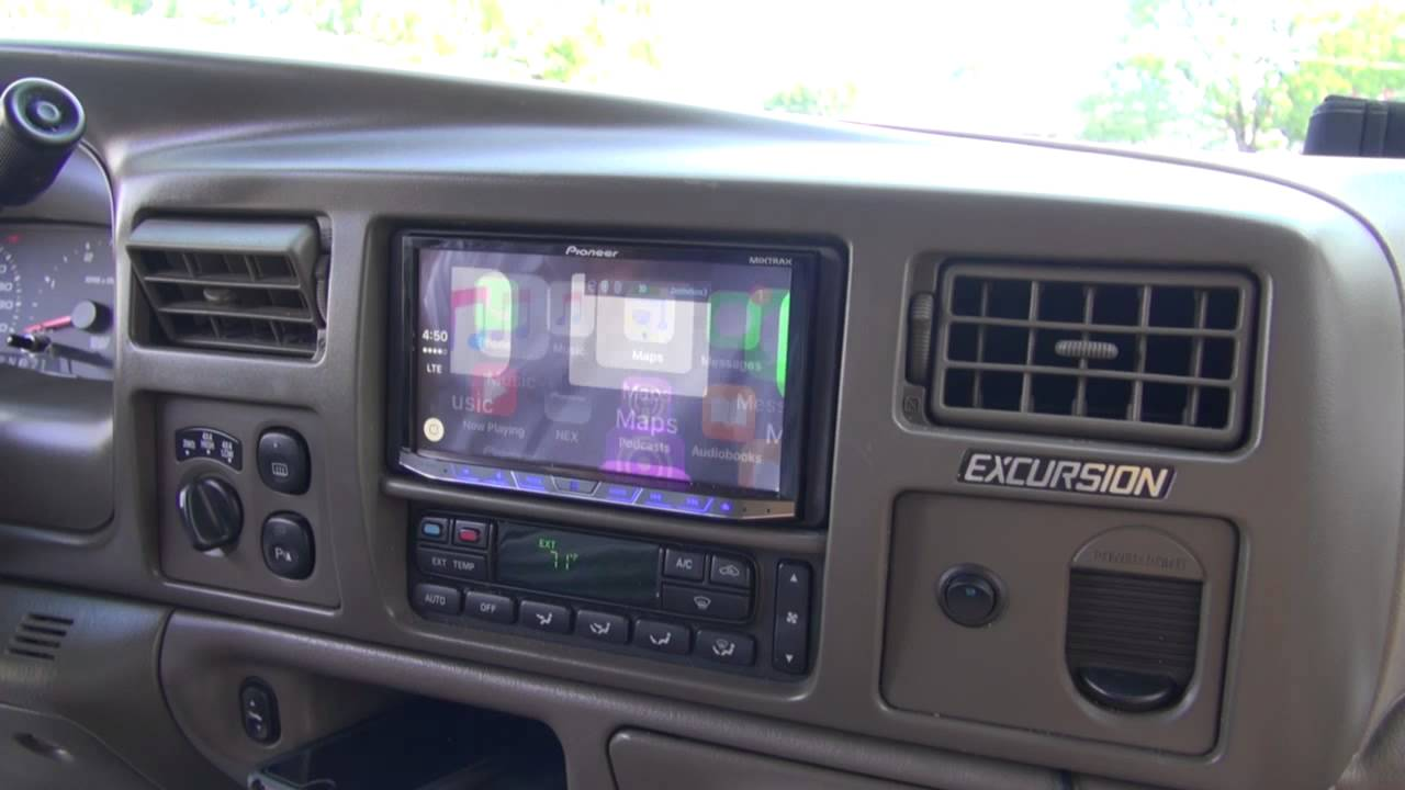 Pioneer Apple Car Play Audio Installation For A Ford