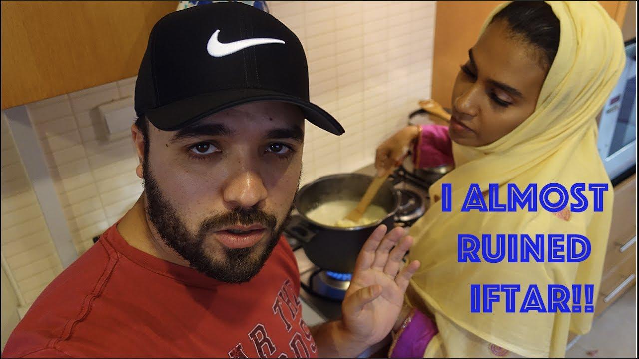 I almost ruined Iftar!! كنت بجيب العيد