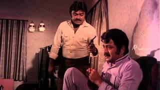 Dharma Devathai - Vijayakanth threatens Jai Ganesh