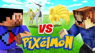 Download OUR FIRST PIXELMON BATTLE! (Minecraft Pokemon Mod)