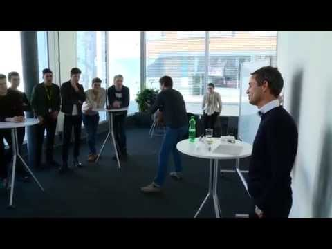 Bernhard Heusler, FC-Basel Präsident, geht in die Schule – by «Mint»