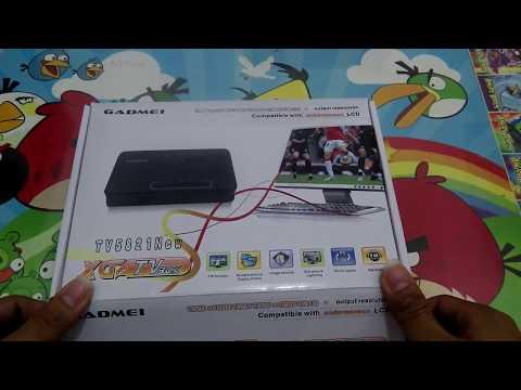 CUMA PAKE MONITOR BISA NONTON TV | TV TUNER GADMEI 5821N