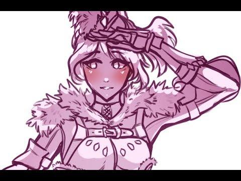 {Speed Paint} | MHW Tobi Kadachi Armor