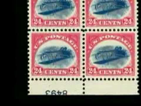History of the 24c Inverted Jenny postage stamp USA C3a