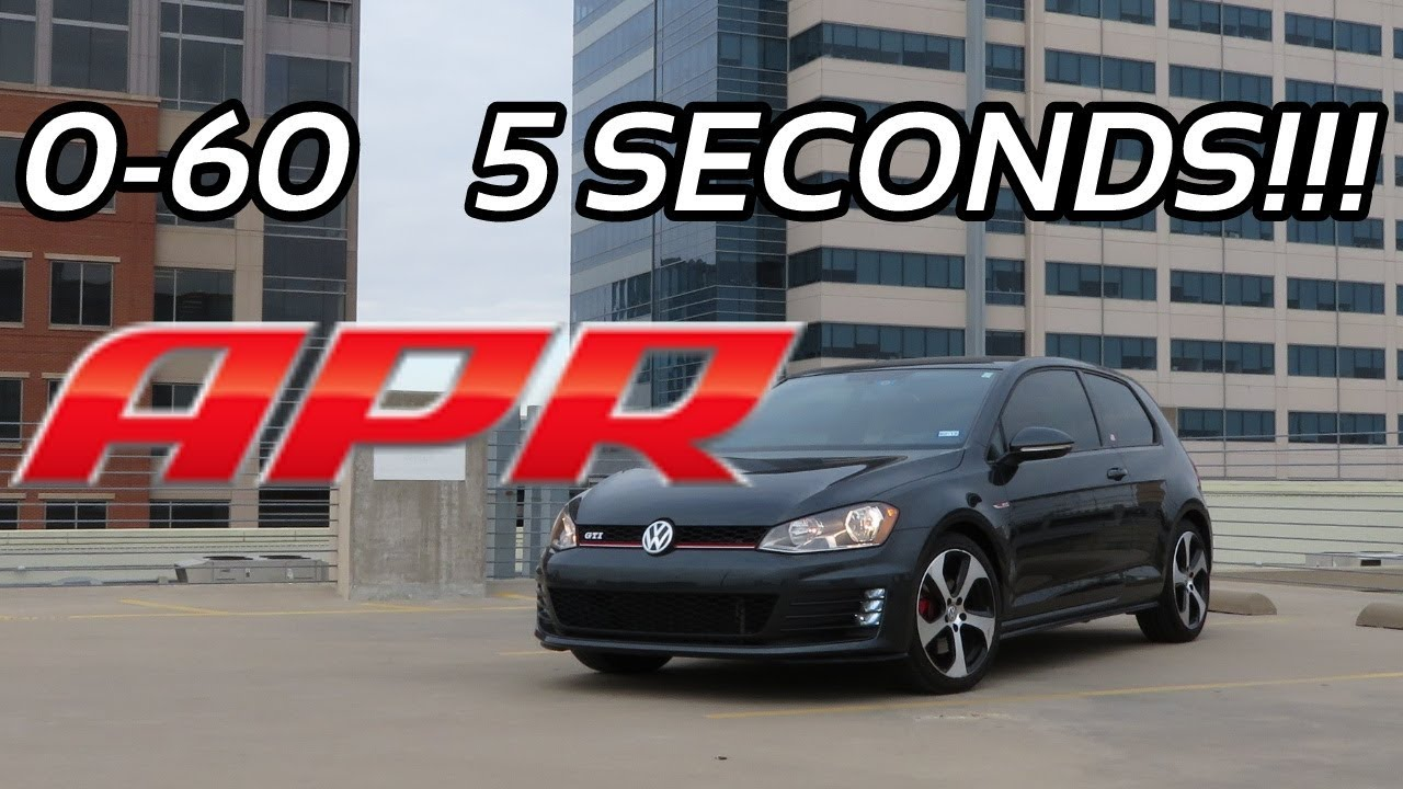 Mk7 Apr Stage 1 Gti Launch Control Is Insane Youtube