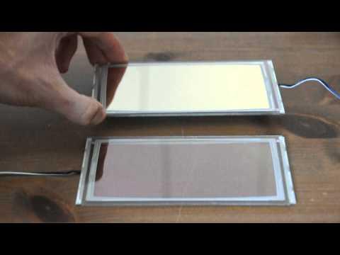 Tabola OLED lighting panels