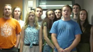 طلبة امريكيون يغنون كركشنجى دبح كبشه