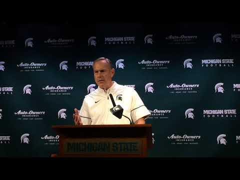 Mark Dantonio recaps Michigan State