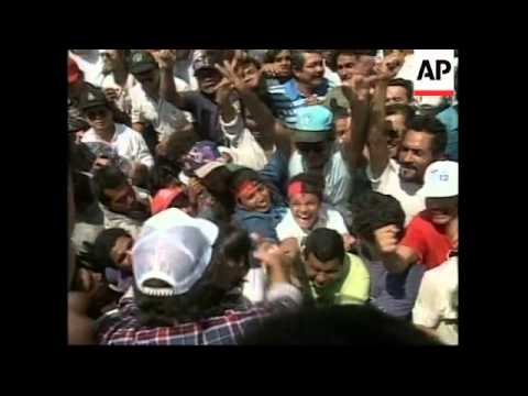 NICARAGUA: MANAGUA: PROTESTS AGAINST GOVERNMENT AID PROJECT