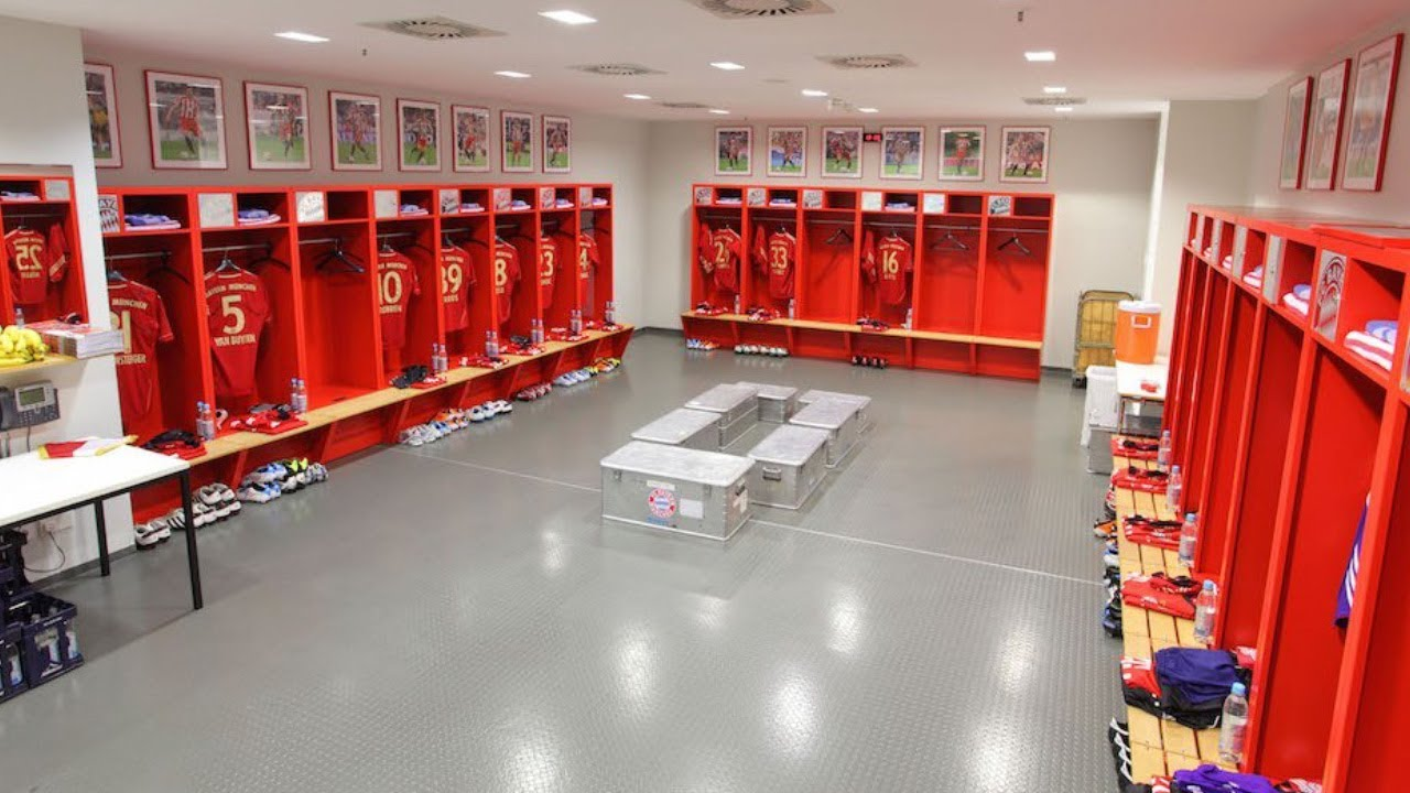 Bundesliga Dressing Rooms