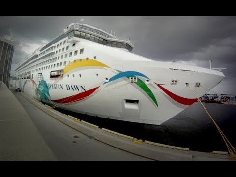 Norwegian Dawn Cruise Ship Tour