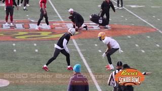 FBGP's 2020 Senior Bowl Practice Highlights - Day 2: South Team WR-DB 1-on-1