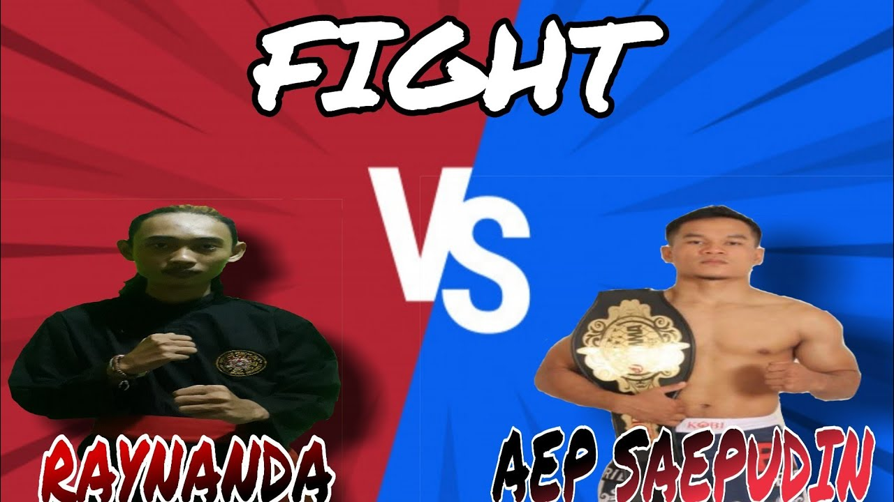 [ FIGHT BOXING ] RAYNANDA VS AEP SAEPUDIN / SALAM OLAHRAGA