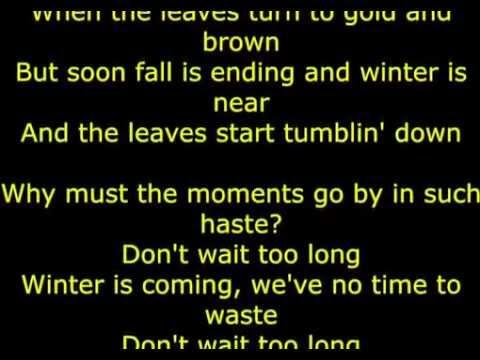 Don't Wait Too Long   Lady Gaga Ft  Tony Bennett LYRICS