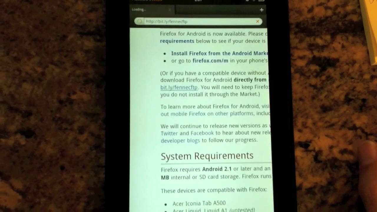 How to get Firefox on your Kindle Fire (without hacking)