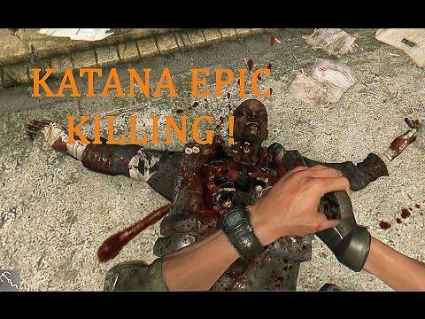 EPIC KILLING MONTAGE ! - Dying Light KATANA Gameplay (PC)