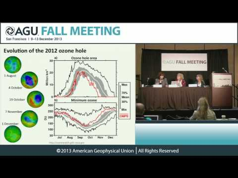 FM13 New Results From Inside the Ozone Hole PressConference
