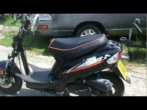 lonjia moped digita 51 youtube. Black Bedroom Furniture Sets. Home Design Ideas