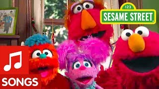 Sesame Street: We're a Family Song with Elmo, Abby, and Rudy!