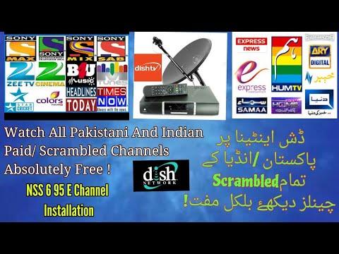 Watch All Indian,Pakistani Paid /Scrambled Channels Of Dish TV 95 E  Absolutely Free   Urdu/Hindi