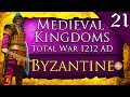 SIEGE OF ROME FINALE! Medieval Kingdoms Total War 1212 AD: Byzantine Campaign Gameplay #21