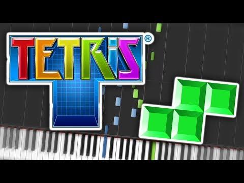 Tetris Theme C Piano Tutorial Synthesia