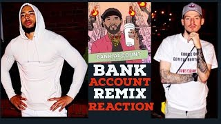 Joyner Lucas - Bank Account Remix REACTION