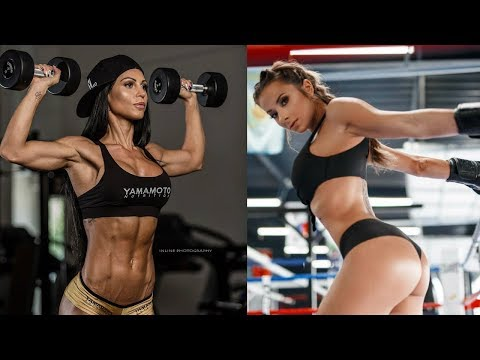 Very STRONG AND BEAUTIFUL - Women's FITNESS In a Week Motivation for Girls 2018