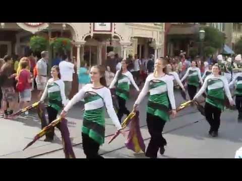 Steinert Marching Unit in Disney 2014