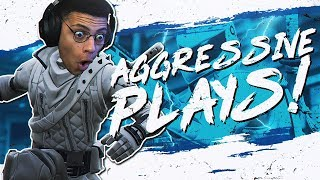 AGGRESSIVE PLAYS IN SCRIMS! 9 KILL PRO SCRIM (Fortnite BR Full Match)