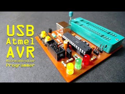 USB Atmel AVR Microcontroller Programmer