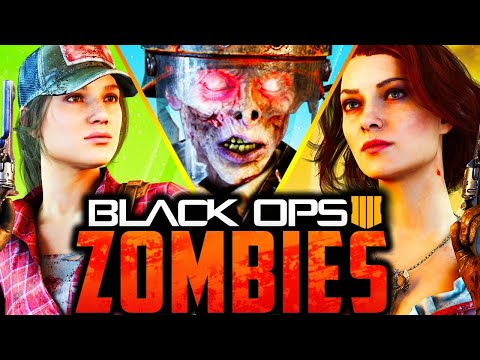 ALL ZOMBIES EASTER EGGS (Call of Duty: Black Ops 4 Zombies) [Part 1]