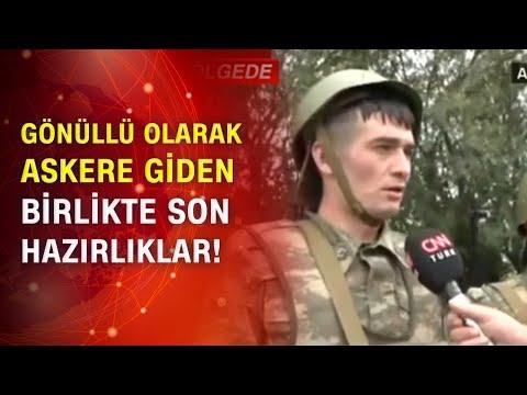 Cephedeki Azerbaycan askerleri CNN Türk'e konuştu