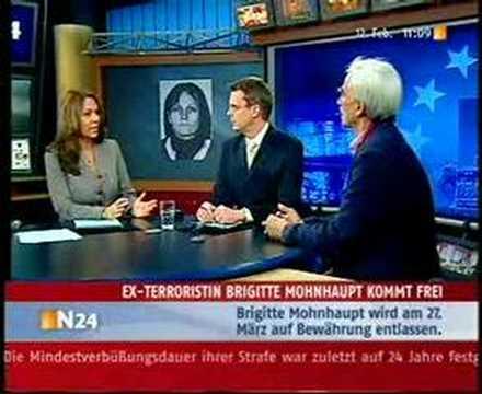 Bettina Röhl & Christian Ströbele zur Mohnhaupt-Freilassung
