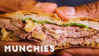 Recreating the World's Oldest Roast Beef Sandwich