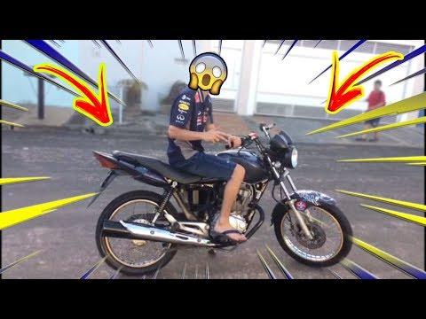 ROLÊ COM A MOTO NOVA DO GUI 80 !!!