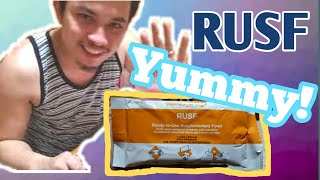 Trying to eat || RUSF (Ready To Use Supplementary Food) Sobrang Sarap!Yummy!